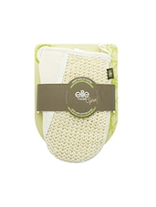 Elite Models Spa Sisal And Cotton Glove / Loofah For Men And Women - By