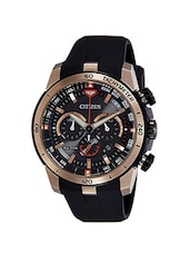 CITIZEN Black Dial Watch For Men - CA4152-02E -  online shopping for Chronograph Watches