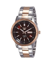 SEIKO Red Dial Analog Watch For Men - SNKN60K1 -  online shopping for Analog Watches