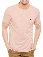 orange cotton t-shirt -  online shopping for T-Shirts