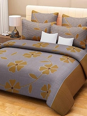 Flossy Cotton Floral Printed Double Bedsheet Set -  online shopping for bed sheet sets