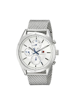Tommy Hilfiger  Silver Dial Chronograph Watch For Men - TH1791128 -  online shopping for Chronograph Watches