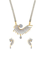 gold brass necklaces and earring -  online shopping for Necklaces and Earrings