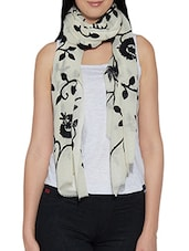 white woollen stole -  online shopping for stoles