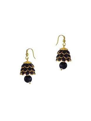 black metal other earring -  online shopping for earrings