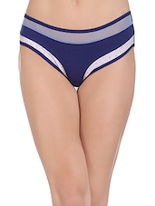 navy blue cotton bikini panty -  online shopping for panty