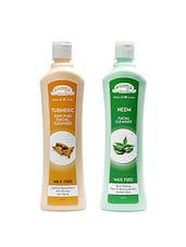 Aroma Secrets Turmaric And Neem Cleanser Combo Pack- (NT-2) - By