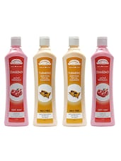 Aroma Secrets Pomegranate And Turmeric Wax Free Cleanser Combo Pack-4 - By