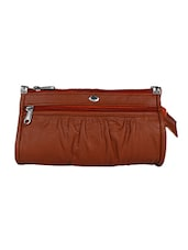 tan leatherette  regular purse -  online shopping for Purses