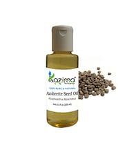 KAZIMA Ambrette Seed Essential Oil (200ML) 100% Pure Natural & Undiluted For Skin Care & Hair Treatment - By