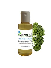 KAZIMA Parsley Seed Essential Oil (200ML) 100% Pure Natural & Undiluted For Skin Care & Hair Treatment - By