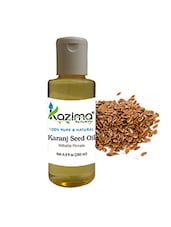 KAZIMA Karanj Seed Cold Pressed Carrier Oil (200ML) 100% Pure Natural & Undiluted For Skin Care & Hair Treatment - By