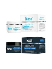 KASA Under Eye Cream 50 Gms &  KASA Anti Wrinkle Face Cream Day Cream 50 Gms - By