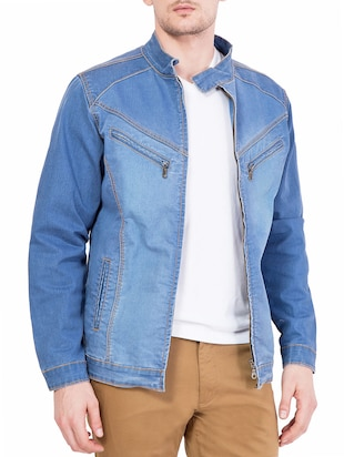 light blue denim jacket -  online shopping for Denim Jacket