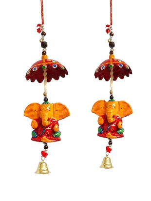 Ganesha With Bell Door Rajasthani Home Decor Wall Hanging -  online shopping for Wall Hanging