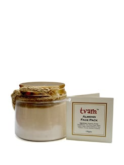 Face Pack - Almond-Dry Skin - Tvam