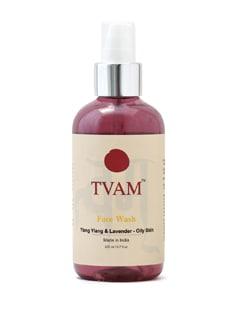 Face Wash - Ylang Ylang & Lavender - Oily Skin - Tvam