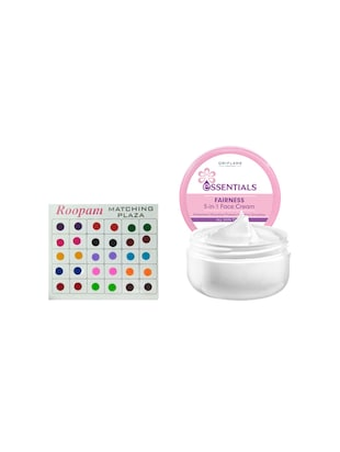 oriflame Bindi with Essentials Fairness 5-in-1 Face Cream-75g -  online shopping for beauty sets and combos