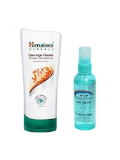 Pink Root Hair Serum & Himalaya Damage Repair Protein Conditioner 400ML Pack Of 2 - By