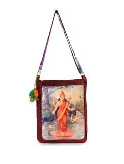 Goddess Print Cross Body Bag - The House Of Tara