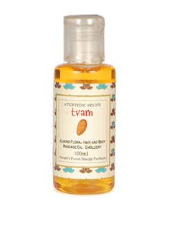 Massage Oil- Almond Floral - Tvam