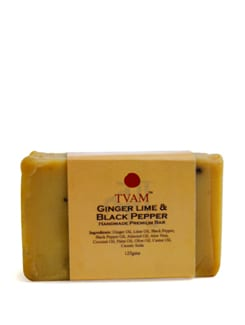 Soap - Ginger Lime & Black Pepper - Tvam
