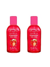 Aroma Secrets Strawberry Scrub Face Wash, 50 Ml (combo Pack 2) - By