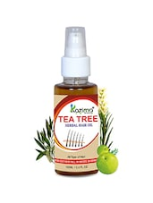 KAZIMA Premium Quality TEA TREE Herbal Hair Oil For Unisex (100 ML) - By