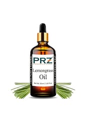 PRZ Lemongrass Essential Oil (30ML) - Pure Natural Aromatherapy & Therapeutic Grade Oil For Skin Care & Hair Care - By