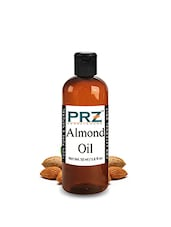 PRZ Almond Carrier Oil (50ML) - Pure Natural For Aromatherapy Body Massage, Skin & Hair Care - By