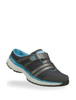 Black And Blue Agility Kick Back Shoe - Skechers