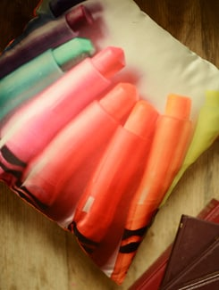 Crayons Cushion Cover - Yolo By Spread