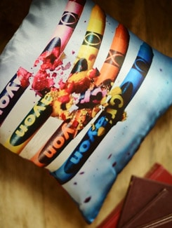 Broken Crayons Cushion Cover - Yolo By Spread