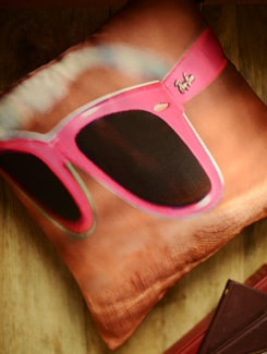 Pink Raybans Cushion Cover - Yolo By Spread