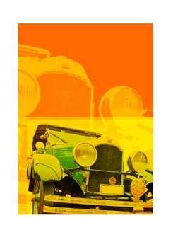 Digital Art Of Car II Poster - Artfairie