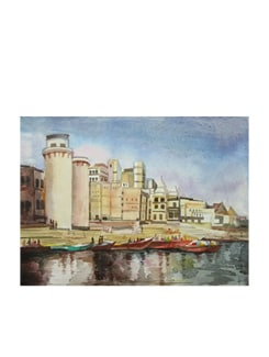 Benaras Ghat (Archival Quality Print) - Artfairie 14866
