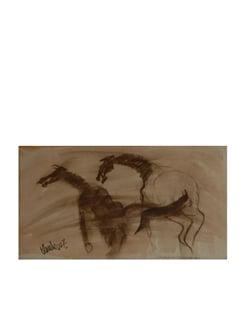 Horse By Kartick Paul  (Archival Quality Art Print) - Artfairie