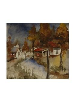 Country By Pousali Das (Archival Quality Art Print) - Artfairie