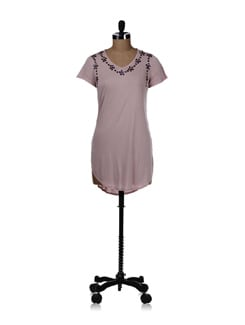Baby Pink Long Top - REME