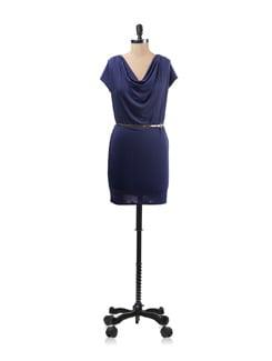 Cowl T-shirt Dress - Forever  New