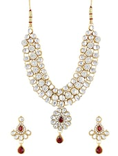 Gold Plated Necklaces And Earring - By