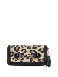 Animal Print Wallet - Forever  New