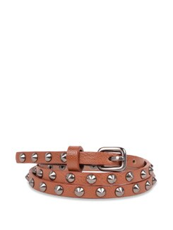 Studded Brown Belt - Carlton London