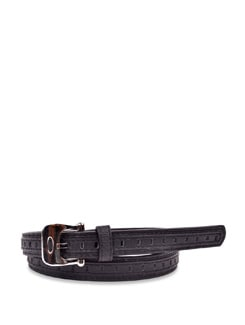 Stylish Black Belt - Carlton London