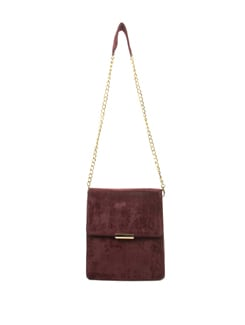 Mauve And Gold Evening Bag - Tamarind