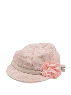 Lacy Pink Cap - Addons