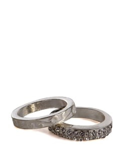 silver rings - set of 2 - Addons