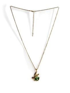 Gold Rabbit Pendant Necklace - Addons