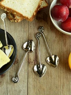 Charming Hearts- Coffee Spoon In A Set Of 4 - Horizon