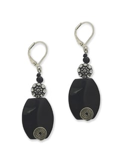 The Classic Black Earring - Eesha Zaveri; Jewellery By Design